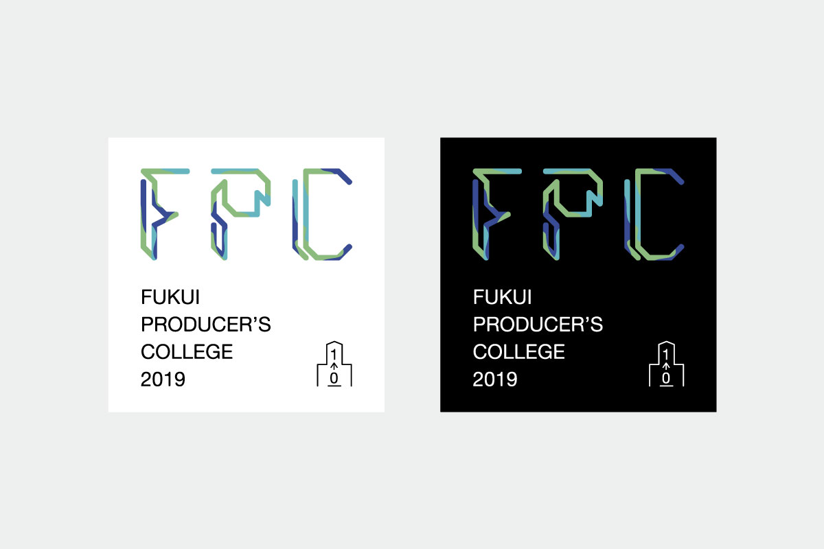 Fukui Producer's College2019 ロゴ